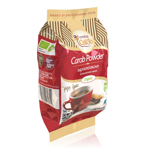 Carob Powder Cocoa Substitute - 300g,Carob Powder is a great substitute,Naturally sweet,caffeine free,gluten free,no preservatives and fillers added,